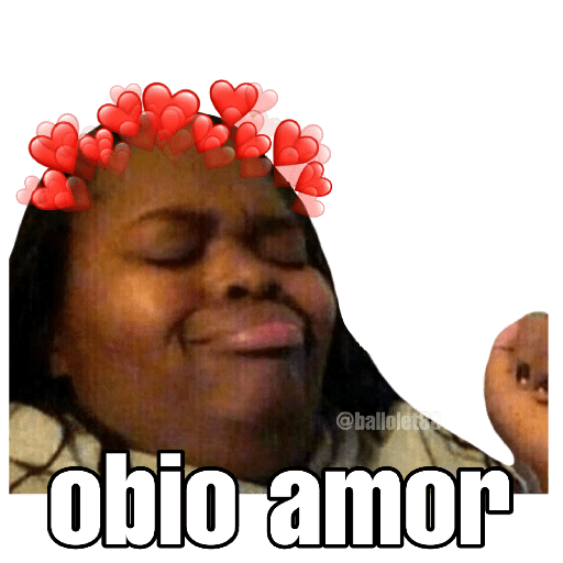 MEMES Stickers De Amor